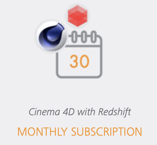 cinema_4D_redshift_monthly_Subscription